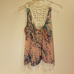 Collective Concepts floral tank top